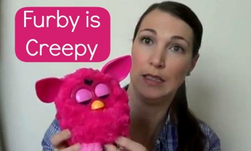 Post image for Vlogging Workshop: Furby Is Creepy