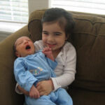 New Baby And The Sister Who Loves Him