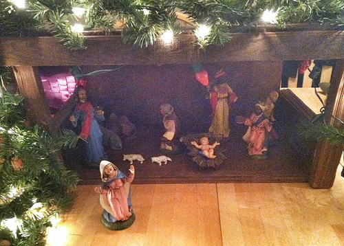 Post image for Writer's Workshop: The Manger