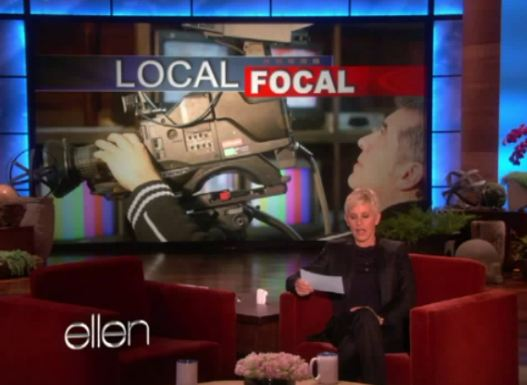 Post image for Getting My News From Ellen