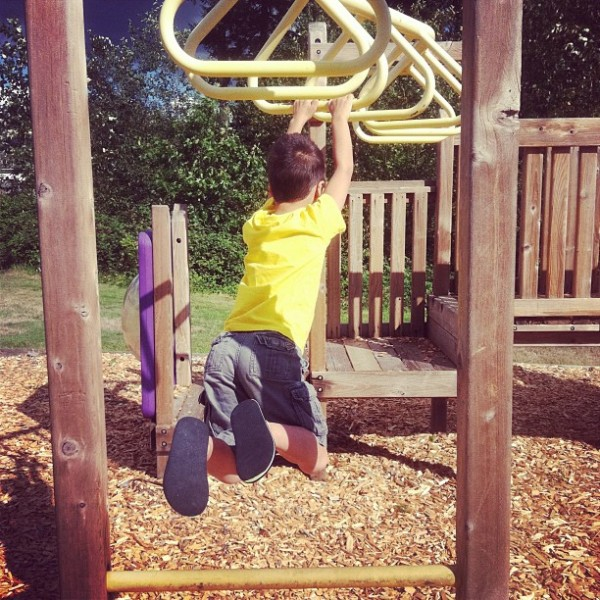 Post image for I Can Do The Monkey Bars