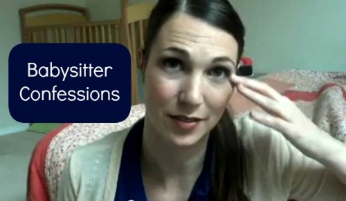Post image for Vlogging Workshop: Babysitter Confessions
