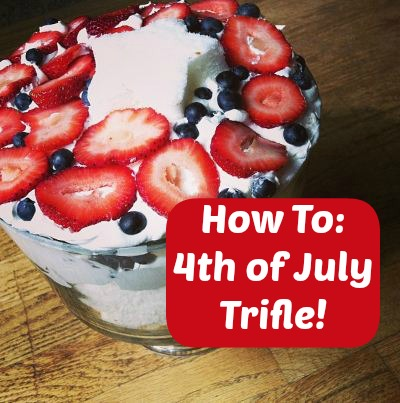 Post image for Crafty Mom Challenge: 4th of July Trifle