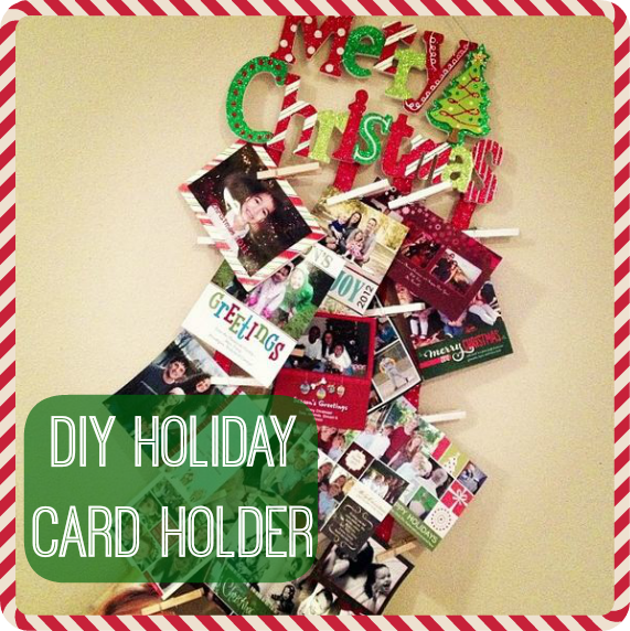 Post image for Episode 26: DIY Holiday Card Holder