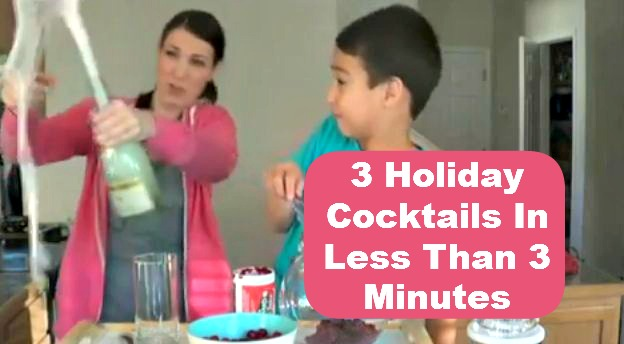 Post image for Vlogging Workshop: 3 Holiday Cocktails