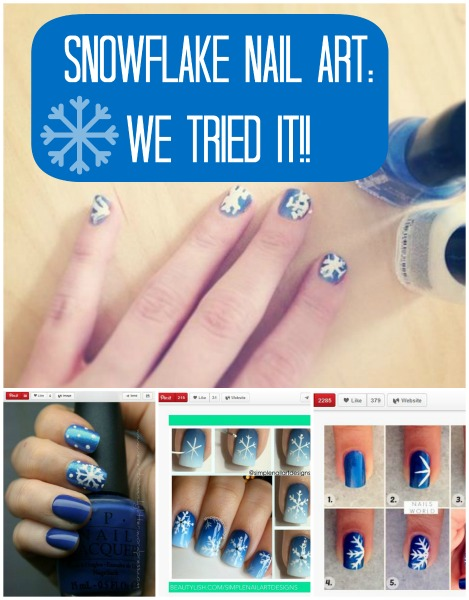 Post image for Episode 29: Snowflake Nail Art