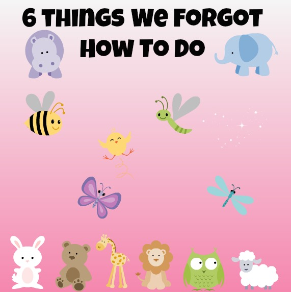 Post image for Writer's Workshop: 6 Things We Forgot How To Do