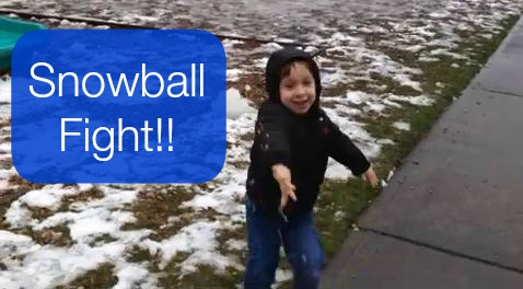 Post image for Vlogging Workshop: Violent Snowballs