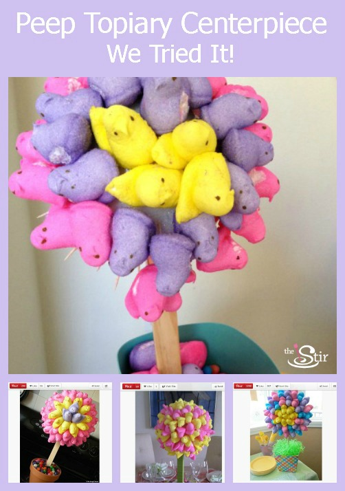 Post image for Episode 40: Colorful Peep Topiary