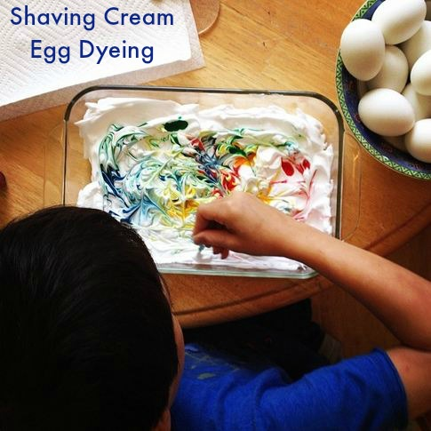 Post image for Episode 43: Shaving Cream Egg Dyeing