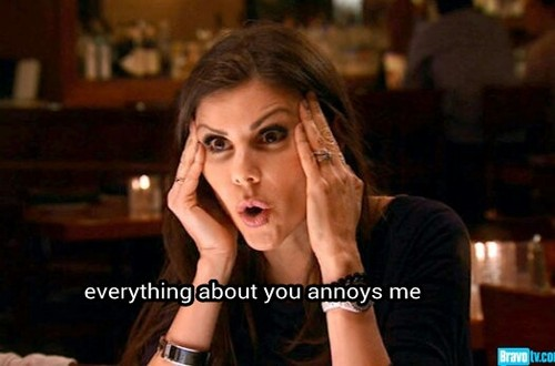 heather dubrow annoyed