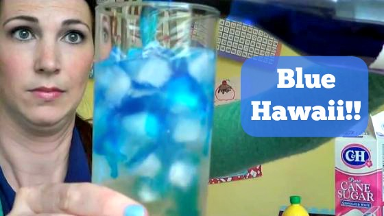 Post image for Blue Hawaii Mixed Drink