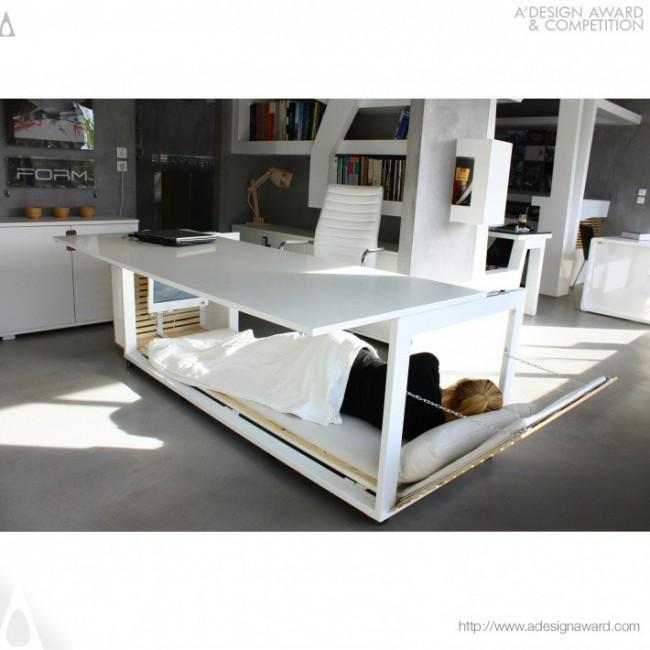 life desk bed