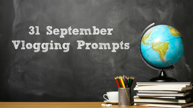 september vlogging prompts