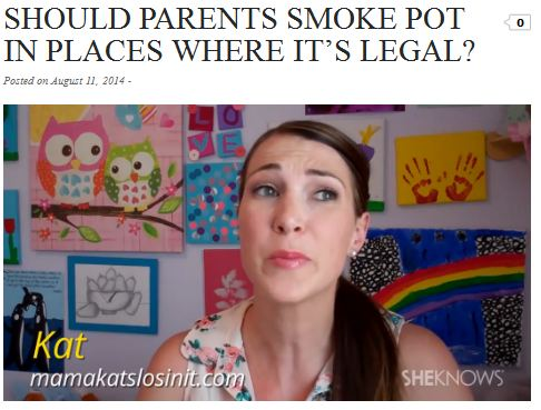 should parents smoke pot2