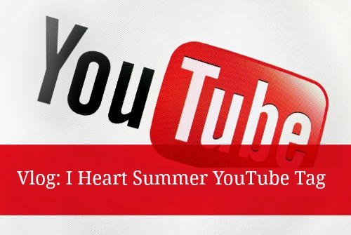 A list of summer inspired questions to answer in your I Heart Summer YouTube video!