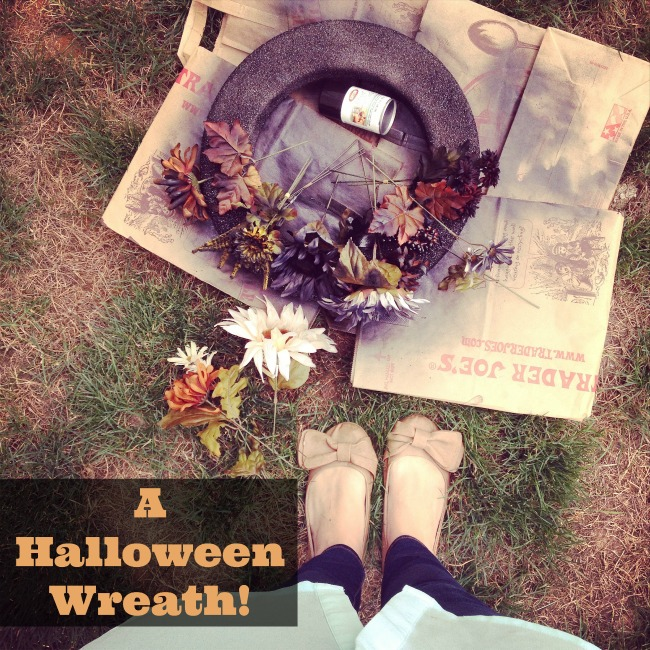 How To Make A Halloween Wreath 2
