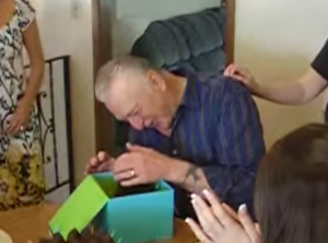 puppy surprise grandpa