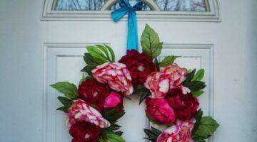 my valentine wreath