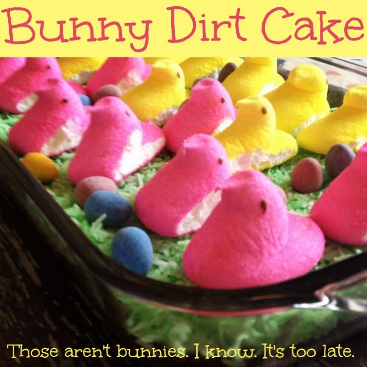 bunny dirt cake 2