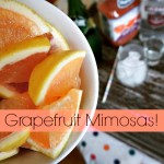 Grapefruit Mimosas!