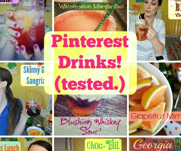 Collection of Pinterest Drinks Tested