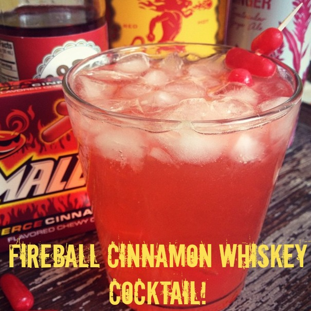 fireball cinnamon whiskey cocktails