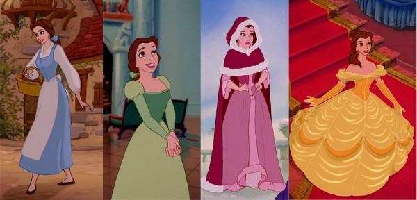 Belle's 4 Dresses
