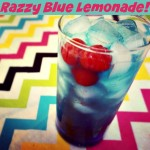 Razzy Blue Lemonade!