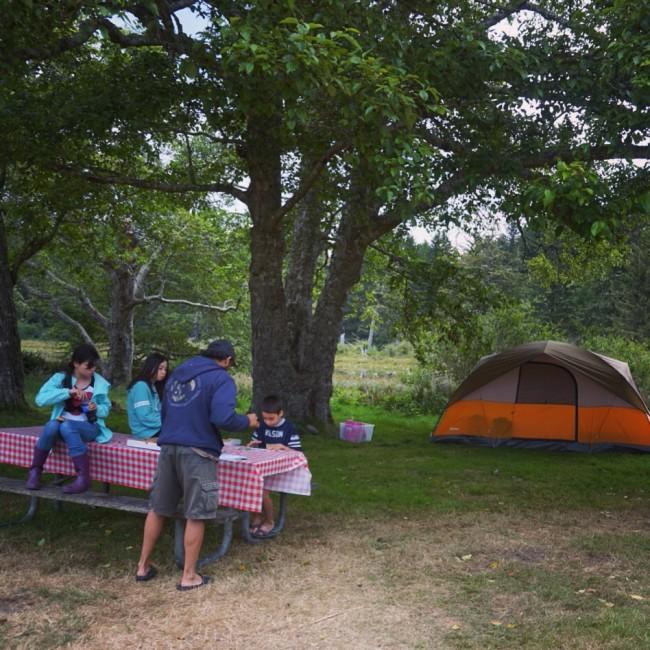 Dinner Camping