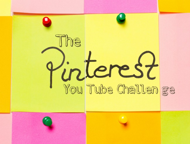 The Pinterest YouTube Challenge