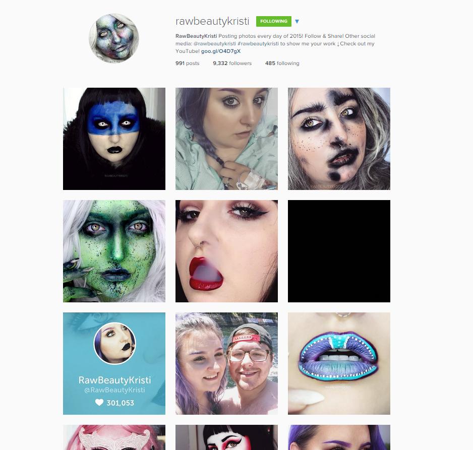 instagram kristi
