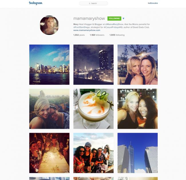 instagram mary