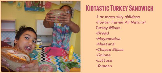Kidtastic Turkey Sandwich