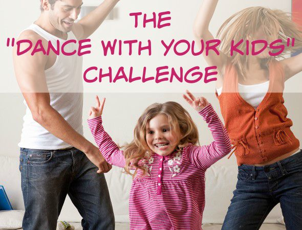 The Dance With Your Kids Challenge