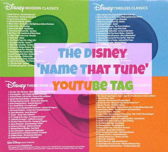 The Disney Name That Tune Challenge