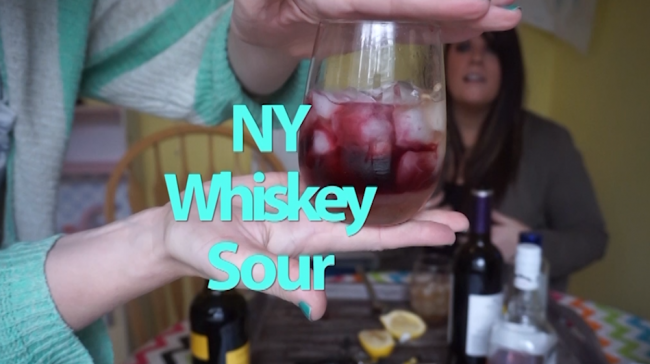 ny whiskey sour