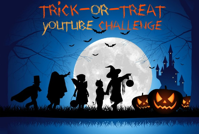 Trick or Treat YouTube Challenge