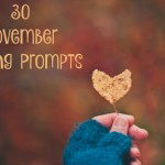 30 November Writing Prompts