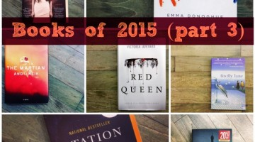 Writer's Workshop: Books of 2015 (Part 3)