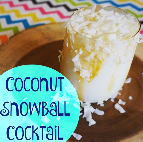 The Coconut Snowball Cocktail
