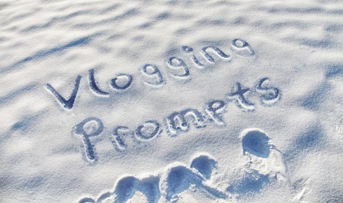 vlogging promopts