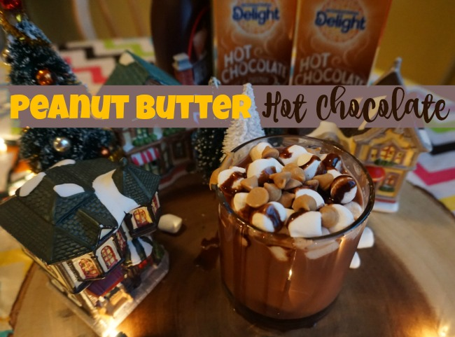 Delicious Peanut Butter Hot Chocolate