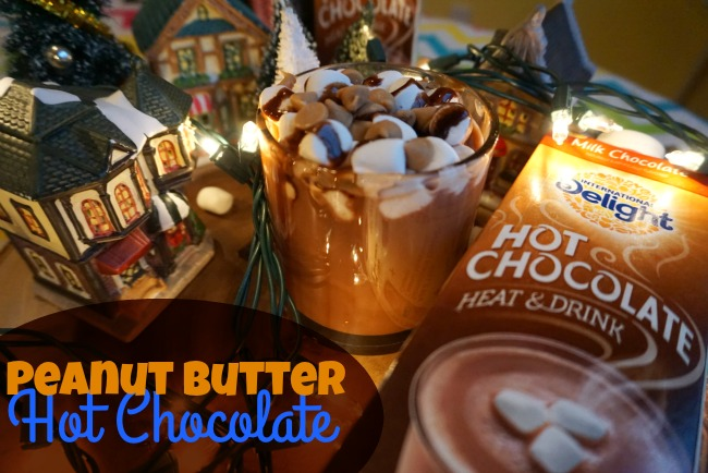Peanut Butter Hot Chocolate!