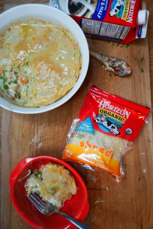 Horizon Organic Chicken Pot Pie