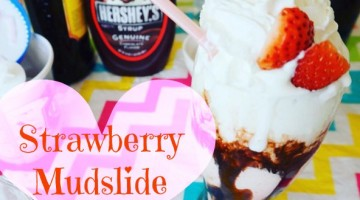 Strawberry Mudslide!