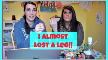 Vlogging Workshop: Almost Lost A Leg