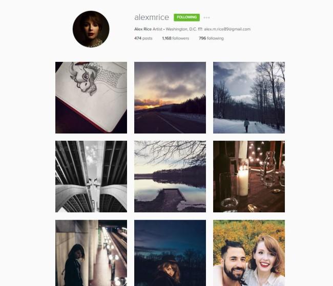instagram alexmrice