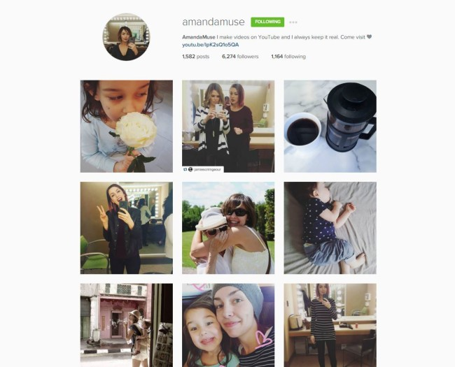instagram amandamuse