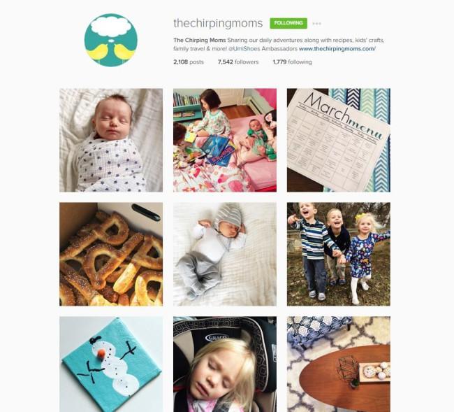 instagram chirpingmoms